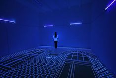 Berlin-based Korean artist Jeongmoon Choi redefines a space with her incredibly eye-catching light and thread installations.