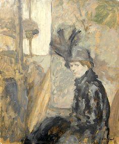 Edouard Vuillard / Le shako plumé de Lili Lamy
