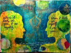 Harmonizing Gelli Prints in Your Journal