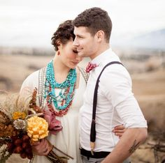 Montana Prairie shoot | styling, coordination + floral design: Habitat Floral Studio // photography: Cluney Photo // makeup: Alchemy Mineral Blends // paper: Noteworthy Paper and Press // jewelry: Shekinah Native Handcrafts // dress: Rose Vintage
