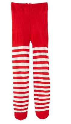 jefferies socks baby girls candy cane striped tights christmas 6 18 months
