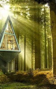 2   These Zero-Impact Tree-Inspired Houses Will Blend Right Into The Forest   Co.Exist   ideas + impact