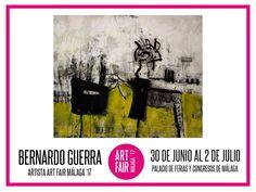 Del 30 de junio al 2 de julio estaré presente con mi obra en el stand A63 de ART FAIR MÁLAGA 2017 Palacio de Ferias y Congresos de Málaga.