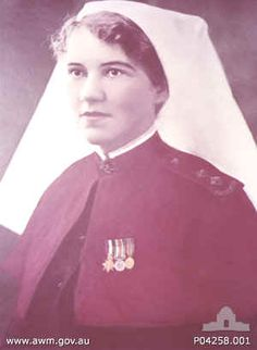 Sister Elizabeth Kenny. Australian Nurse. Came up with a different treatment for Polio Victims and changed medical history.
