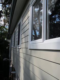 Dulux Oyster Linen & Aspen Snow trim (Two Little Pirates: A renovation update)