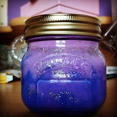 """A galaxy in a jar"" from Rosie Potter. Kilner Jars, Mason Jars, Galaxy Jar, Jar Crafts, Projects To Try, Craft Ideas, Make It Yourself, Beautiful, Instagram"