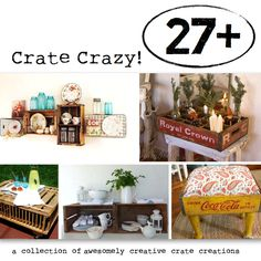 A crate-aholic crates up one crazy collection