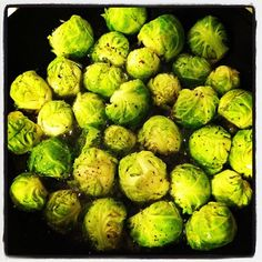 Toasted Sesame Brussels Sprouts
