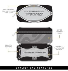 Stylist Bag - Lotus