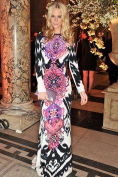 e8f789662ea Poppy Delevingne looks beautiful in an Emilio Pucci dress. Poppy  Delevingne