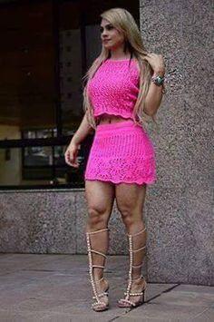 look vestido tricot feminino - Pesquisa Google
