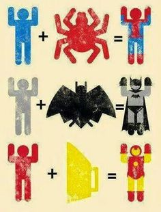 Becoming a superhero is oretty simple