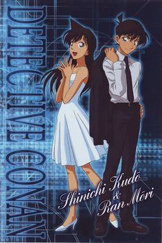 Detective Conan, Shinichi and Ran