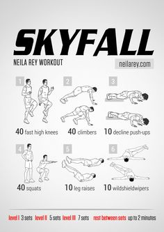 Skyfall Workout