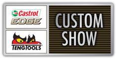 Castrol EDGE / Teng Tools Custom Show logo 2014