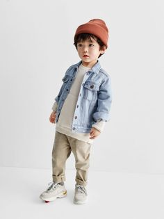 Little Boy Fashion, Kids Fashion Boy, Baby Boy Outfits, Kids Outfits, Cute Outfits, Hipster Kind, Jean Jacket Outfits, Zara Baby, Zara Kids