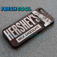 AJ 1949 Hershey's Chocolate Bar - iPhone 4/4s/5 Case - Samsung Galaxy S2/S3/S4 Case - Black or White  by FreshCool on Etsy
