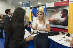 Career Fair's can be daunting, with 140+ employers looking to meet you. Hear career advisor Janet Ehl's advice here to prepare.
