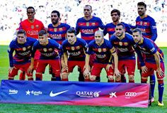 EQUIPOS DE FÚTBOL: F. C. BARCELONA 2015-16 contra Getafe