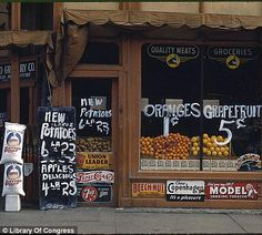 Rare Library of Congress colour photographs of the Great Depression | Mail Online