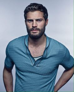 Blue #JamieDornan mmm mmm mmmmm loved him ever since Marie Antoinette - oh my YUMMY!!