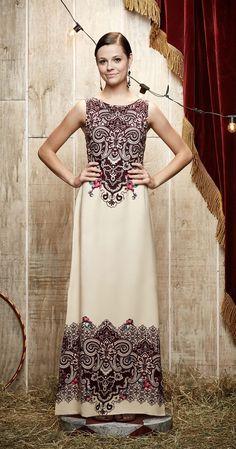 Vestido Longo Renda | Carola e sua Cartola | Antix Store