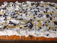 Kirsch - Eierlikör - Blechkuchen mit Schmand - Sahne 3