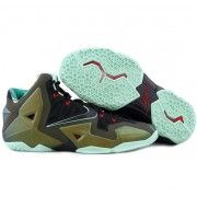 Authentic NIKE LEBRON 11 KING'S PRIDE $107.90  http://www.blackonshoes.com