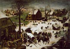 Censo en Belén o El empadronamiento en Belén (en neerlandés, De Volkstelling te Bethlehem) es una obra del pintor flamenco Pieter Brueghel el Viejo. Es un óleo sobre tabla, pintado en el año 1566. Mide 115,3 cm de alto y 164,5 cm de ancho. Se exhibe actualmente en los Museos reales de Bellas Artes de Bélgica de Bruselas, Bélgica.