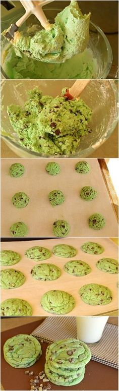 Mint Chip Sugar Cookies Recipe