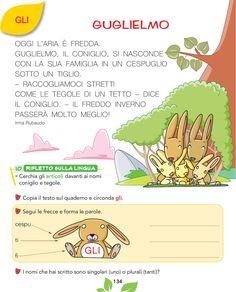 Olmo Il libro di italiano by dijammi - issuu School Life, Back To School, Italian Lessons, Italian Language, Learning Italian, Teaching Materials, Book Cover Design, Primary School, Textbook