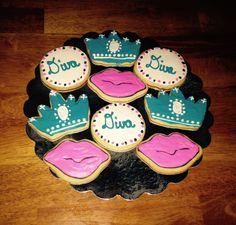Fabulous Diva sugar cookies