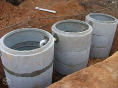 tipos de fossas e para que servem Septic Tank Design, Septic Tank Systems, Septic System, Simple House Exterior Design, Plumbing Drains, Rammed Earth Homes, Yard Drainage, Indian House Plans, Low Cost Housing