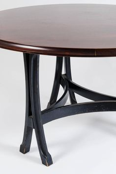 Rare Table by Sergio Asti for Xilografia Milanese, 1958 | From a unique collection of antique and modern dining room tables at https://www.1stdibs.com/furniture/tables/dining-room-tables/