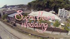 Sucre fleur Wedding @ Remercier Moto-Ujina  Hiroshima