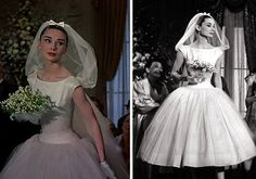 Forever Holly – Inspiration for a chic Breakfast at Tiffany's themed Wedding This was actually the dress she wore in Funny Face