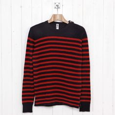 Striped Shetland Sailor Sweater