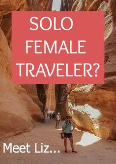 Meet Liz Carlson - a Female Solo Travel Expert