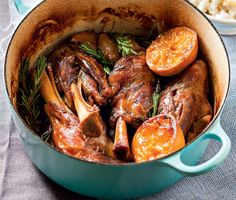 """The dark colour of the beer gives the lamb shanks a lovely warm and intense flavour,"" says cookbook author Nina Timm. Cook this drunken lamb stew or another one of these 19 one-pot stews this winter. Click on the image for the recipes."