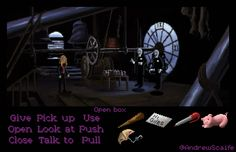 Buffy the Vampire Slayer as a LucasArts point and click adventure game