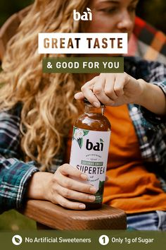 Embrace the fall weather with Bai Socorro Sweet Supertea in hand. Truly brewed and only 5 calories and 1 gram of sugar. Human Nutrition, Diet And Nutrition, Nutrition Jobs, Sports Nutrition, Spiked Tea, Zinc Rich Foods, Growing Strong, Usda Food, Baked Salmon Recipes