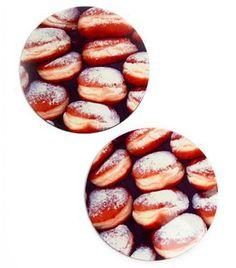 Doughnut Coasters Set of 4