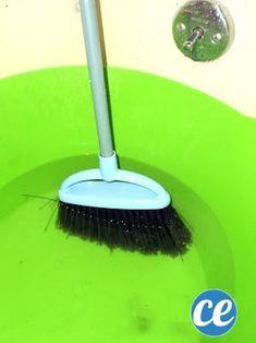 comment nettoyer votre balai facilement avec du vinaigre blanc m nage nettoyage et entretien. Black Bedroom Furniture Sets. Home Design Ideas