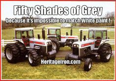 Heritage Iron Magazine Home of the Muscle Tractor. Features all brands, all makes, and all models of muscle tractors and equipment from the to Big Tractors, Vintage Tractors, Vintage Farm, Classic Tractor, Classic Trucks, White Tractor, Farm Humor, Allis Chalmers Tractors, Cub Cadet