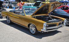 1966 Lemans Convertible 2012 Hot Rod Power Tour St Louis Mo