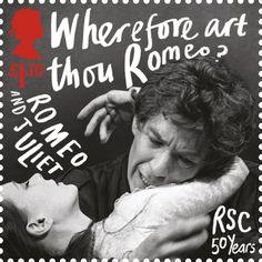 Literary Stamps: Shakespeare, William (1564 - 1616)