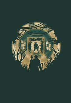 The Last of Us- Clicker art