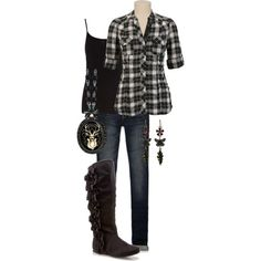 """backwoods"" by jenna-vanhooser on Polyvore"
