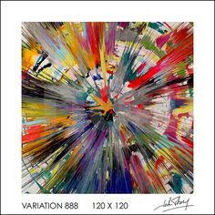 #johnthery #thery #variation #acrylique #spinpainting #spin #painting #art #contemporary