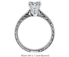 Engraved Micropave Diamond